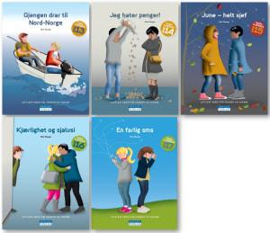 lettleste bøker for voksne