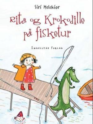 Rita og Krokodille på fisketur