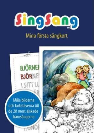 SingSang. Mina första sångkort. Malebok