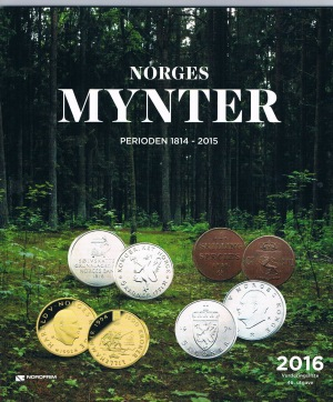 Norges mynter 2016