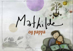 Mathilde og pappa
