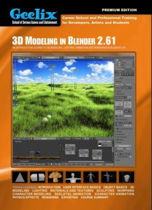 3D modeling in Blender 2.61