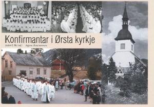 Konfirmantar i Ørsta Kyrkje
