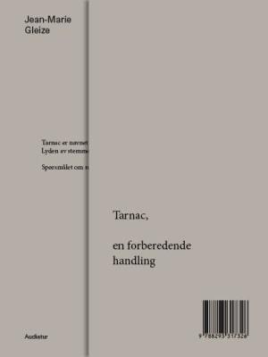 Tarnac, en forberedende handling