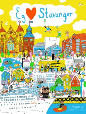 Eg elske Stavanger