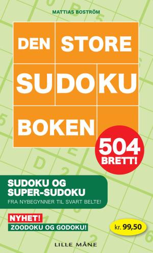 Den store sudokuboken : 504 brett!