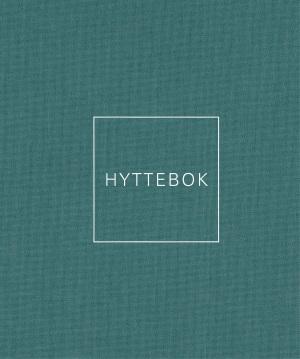 Hyttebok. Sjøgrønn