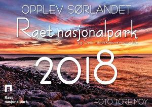 Kalender 2018. Raet nasjonalpark og søm landskapsvernområde. Opplev Sørlandet