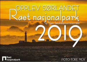 Raet nasjonalpark og Søm landskapsvernområde 2019. Opplev Sørlandet