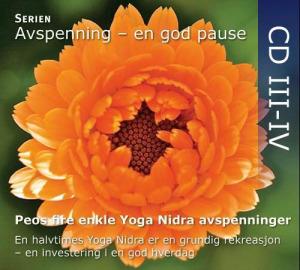Peos fire enkle Yoga Nidra avspenninger