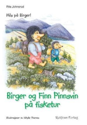 Birger og Finn pinnsvin på fisketur