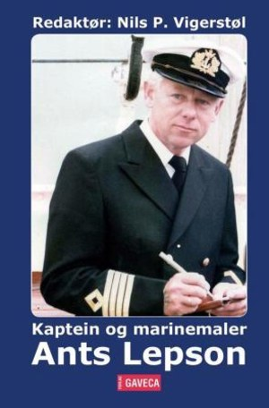 Kaptein og marinemaler Ants Lepson