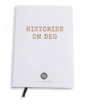 Historien om deg. Dagbok, inspirasjon, notater