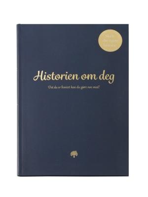 Historien om deg 2.0. Dagbok, inspirasjon, spørsmål