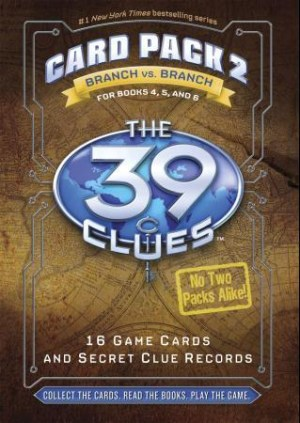 The 39 Clues. Card pack 2 for books 4, 5 and 6. 16 game cards and secret clue records