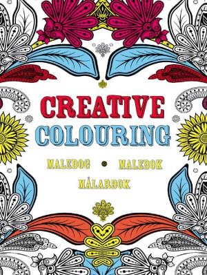 Creative colouring. Malebok