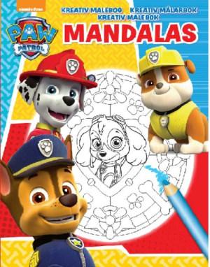 Paw patrol. Mandalas. Kreativ malebok