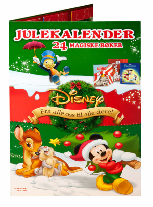 Disney julekalender. 24 magiske bøker