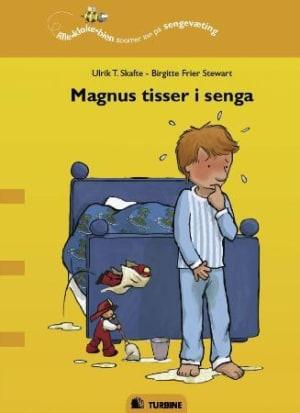 Magnus tisser i senga