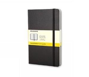 Squared notebook. Rutepapir. Stort format. Moleskine