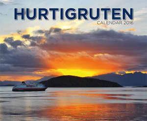 Hurtigruten. Calendar 2016