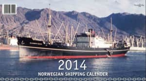 Norwegian shipping calender 2014