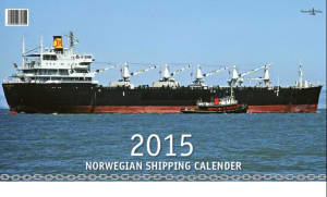 Norwegian shipping calender 2015