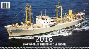Norwegian shipping calender 2016