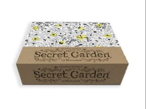 Secret Garden. 12 gavekort