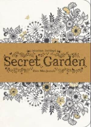 Secret garden.Tre notisblokker