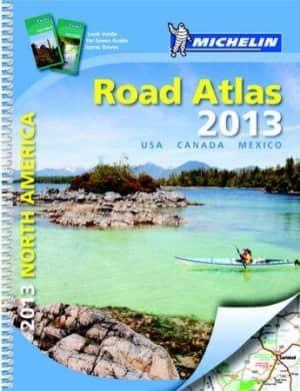 North America road atlas 2013