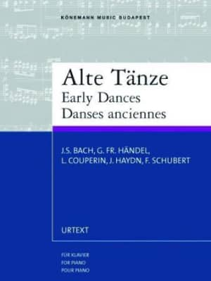 Early dances = Early dances : for piano = Dances anciennes :  pour piano