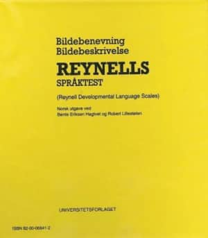 Reynells språktest = Reynell developmental language scales