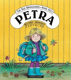 Petra begynner i barnehaven