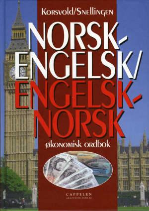 Norsk-engelsk, engelsk-norsk