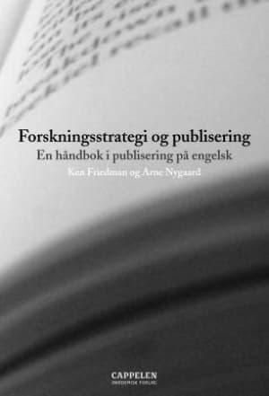 Forskningsstrategi og publisering