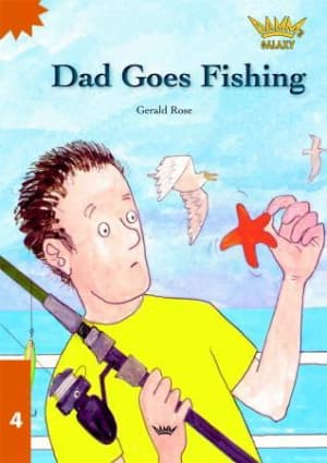 Dad goes fishing