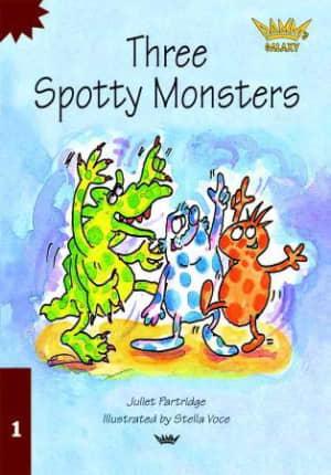 Three spotty monsters