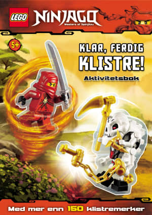 Lego Ninjago. Klar, ferdig klistre! Aktivitetsbok