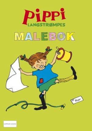 Pippi Langstrømpes malebok