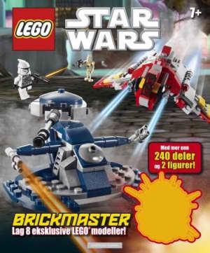 Lego Star wars. Brickmaster. Lag 8 eksklusive Lego modeller! Med mer enn 240 deler og 2 figurer