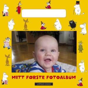 Mitt første fotoalbum. Barnas eget fotoalbum med Mummitrollet-illustrasjoner