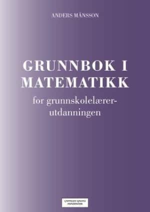 Grunnbok i matematikk