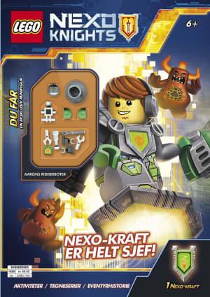 Nexo knights. Nexo-kraft er helt sjef!