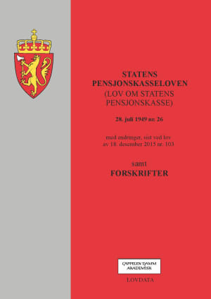 Statens pensjonskasseloven