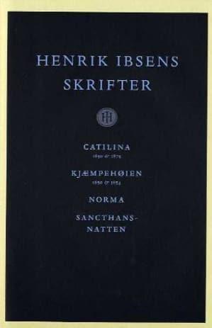 Henrik Ibsens skrifter. Bd. 1