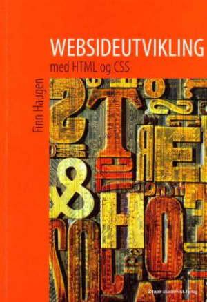 Websideutvikling med HTML og CSS