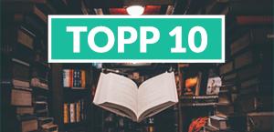 Topp 10 - bestselgere