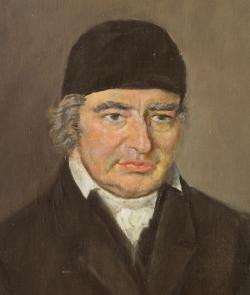 Portrettmaleri av Lauritz Weidemann