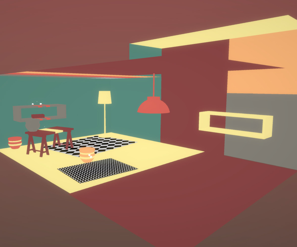 empty the free puzzle game is like interior design tetris